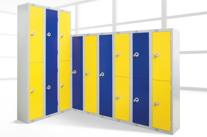 lockers in your workplace